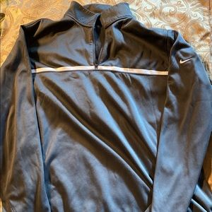 Men's Nike golf half zip fleece jacket